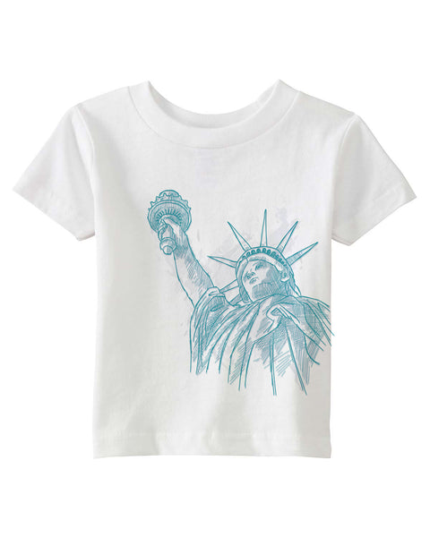 New York to be free BABYS' T-SHIRT