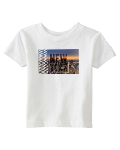 New York Twilight BABYS' T-SHIRT
