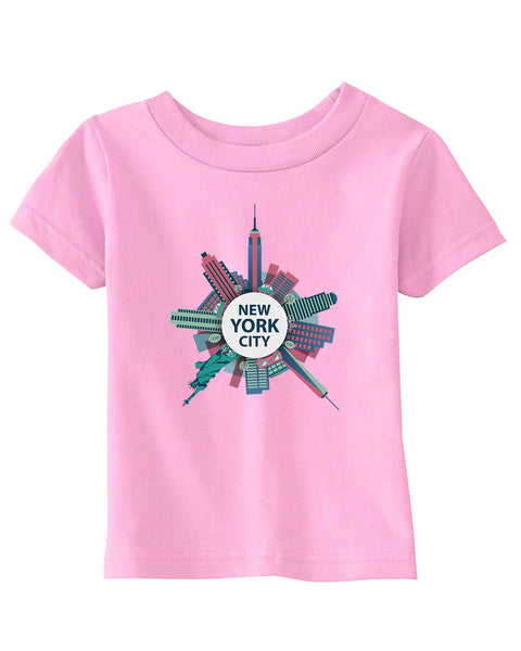 Getting Around in NYC BABYS' T-SHIRT