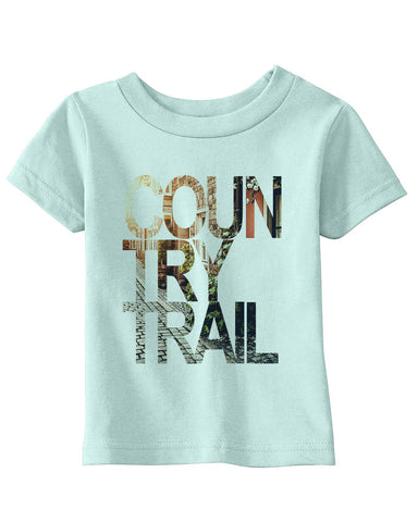 Country Trail BABYS' T-SHIRT