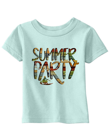 Summer Party BABYS' T-SHIRT