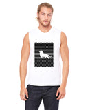 Magnificent Lion MEN'S MUSCLE TANK