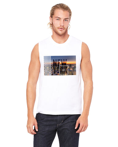 New York Twilight MEN'S MUSCLE TANK