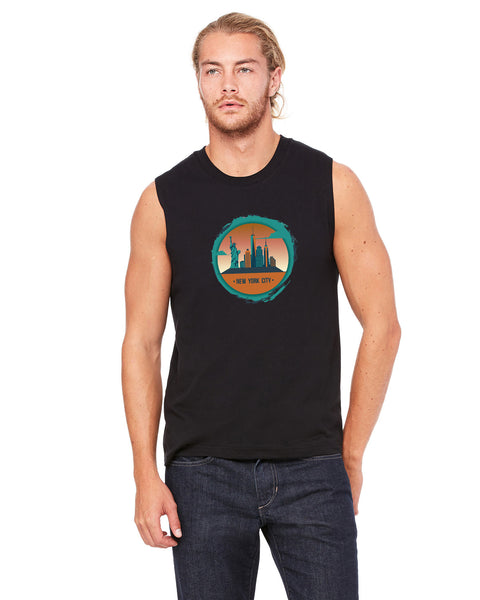 Views in New York MEN'S MUSCLE TANK