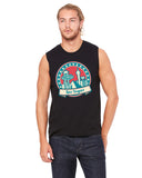 60's Las Vegas MEN'S MUSCLE TANK