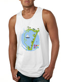 Cancun Boat MEN'S COTTON TANK