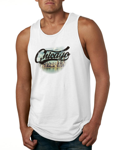 Chicago Skyline MEN'S COTTON TANK