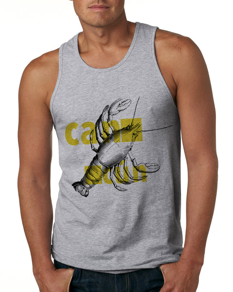 Lobster in Cancun MEN'S COTTON TANK