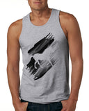 Black White Horse MEN'S COTTON TANK