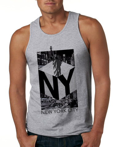 New York NOW MEN'S COTTON TANK