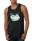 Acapulco Coconut Tree MEN'S COTTON TANK