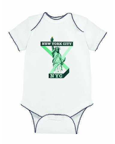 Town of Liberty BABYS' BODYSUIT