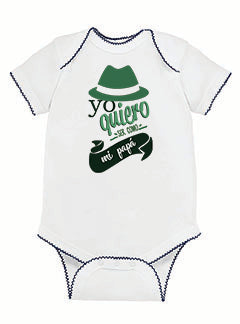 To be a father BABYS' BODYSUIT