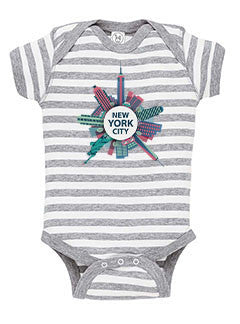 Getting Around in NYC BABYS' BODYSUIT