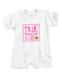 True Friendship BABYS' T-ROMPER