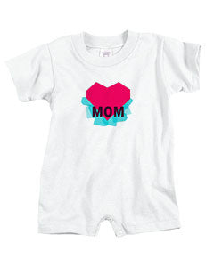 Atom Heart Mother BABYS' T-ROMPER