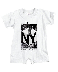New York NOW BABYS' T-ROMPER