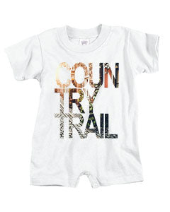 Country Trail BABYS' T-ROMPER