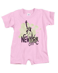 Paint your NYC BABYS' T-ROMPER