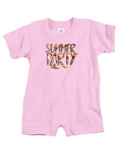 Summer Party BABYS' T-ROMPER