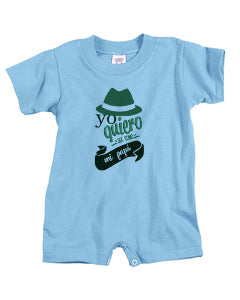To be a father BABYS' T-ROMPER