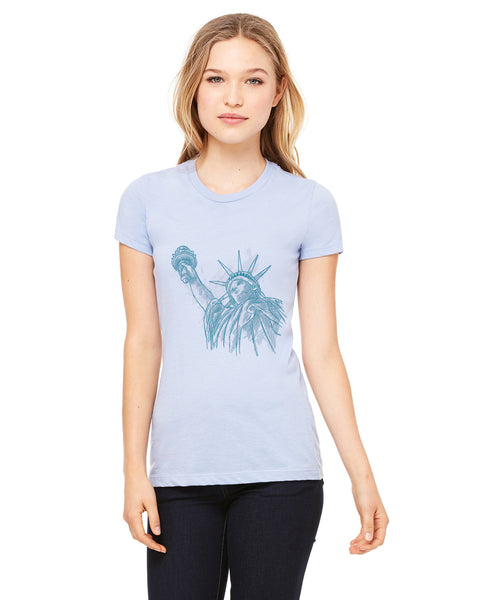 New York to be free LADIES' T-SHIRT