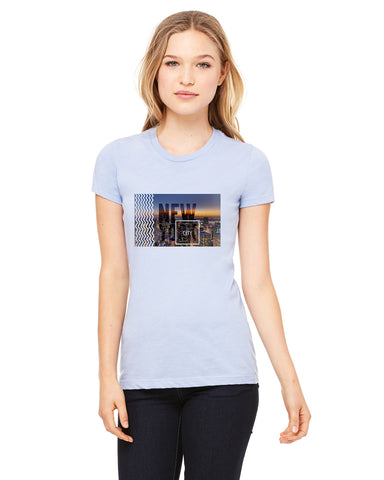 New York Twilight LADIES' T-SHIRT