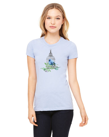 Bird Cage LADIES' T-SHIRT