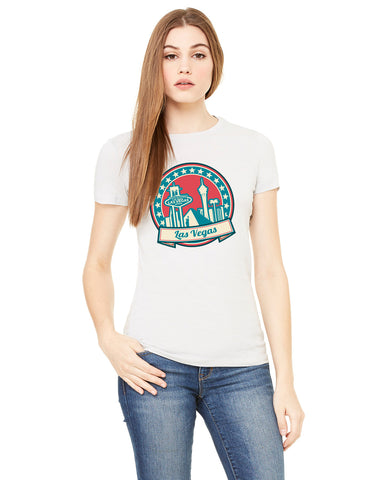 60's Las Vegas LADIES' T-SHIRT