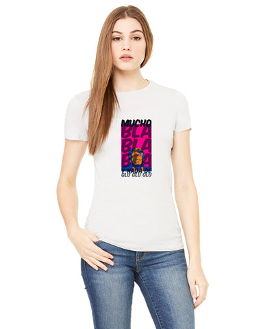 Donald Trump bla bla bla LADIES' T-SHIRT