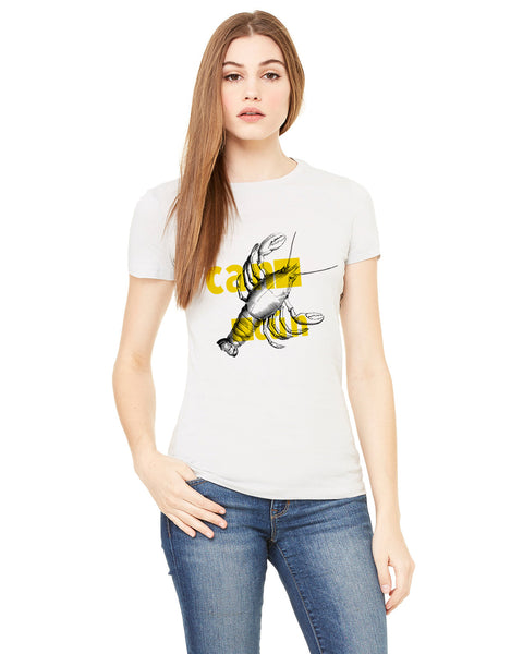 Lobster in Cancun LADIES' T-SHIRT