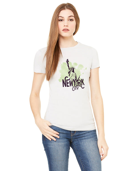 Paint your NYC LADIES' T-SHIRT