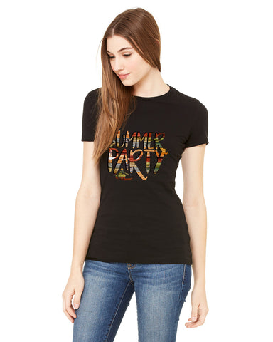 Summer Party LADIES' T-SHIRT