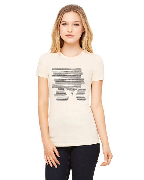 Hidden Rabbit LADIES' T-SHIRT