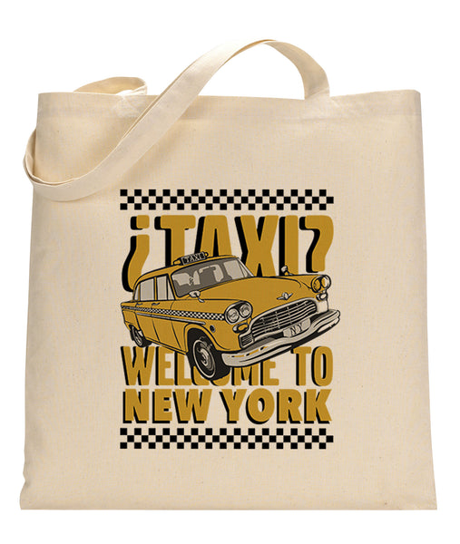 Viva Hey Taxi TOTE BAG