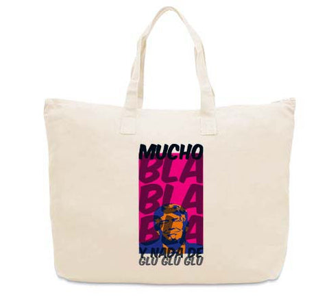 Donald Trump bla bla bla CANVAS TOTE