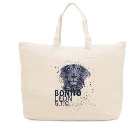 Beautiful leo CANVAS TOTE