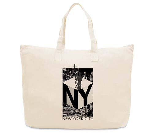 New York NOW CANVAS TOTE