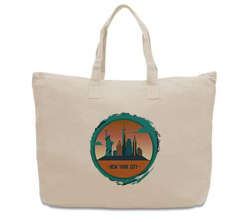 Views in New York CANVAS TOTE