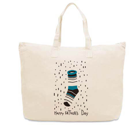 Socks Dad CANVAS TOTE