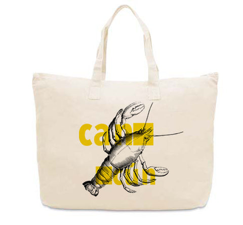Lobster in Cancun CANVAS TOTE