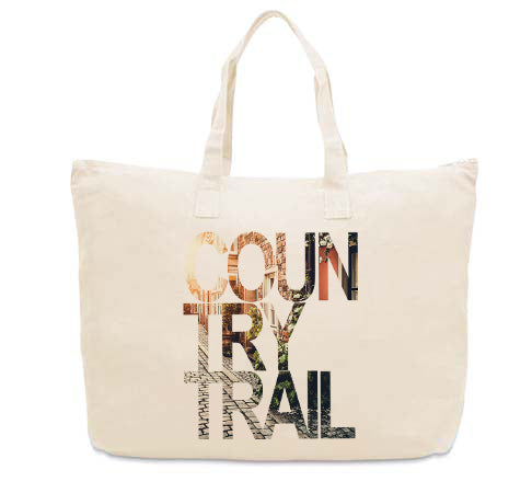 Country Trail CANVAS TOTE