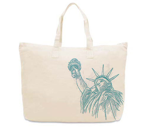 New York to be free CANVAS TOTE