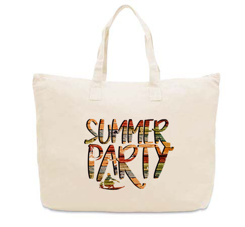Summer Party CANVAS TOTE
