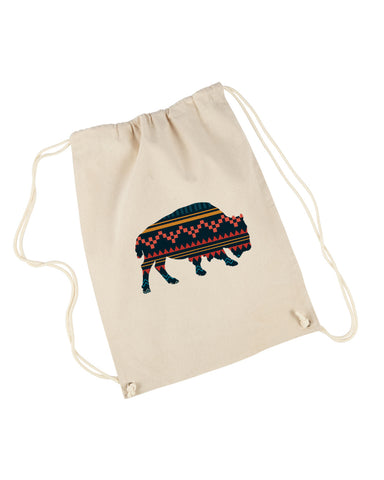 Bufalo DRAWSTRING BACKPACK