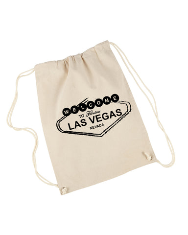 Las Vegas Symbol DRAWSTRING BACKPACK