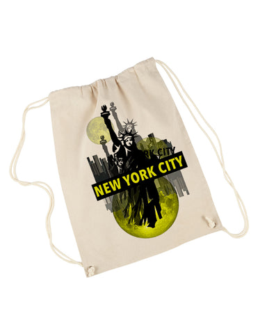 Viva NY DRAWSTRING BACKPACK