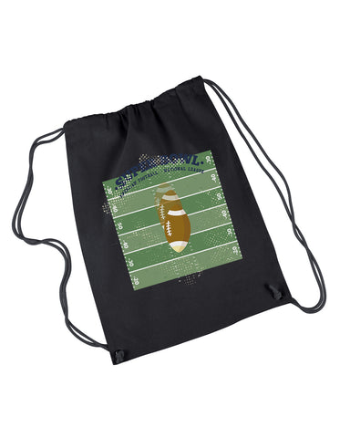 Super Bowl GO DRAWSTRING BACKPACK