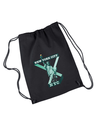 Town of Liberty DRAWSTRING BACKPACK