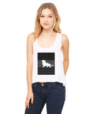 Magnificent Lion LADIES' BOXY TANK